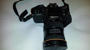 Camara De Fotos Nikon Fm2 Con 2 Lentes Tokina At-x Manual
