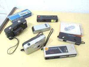Lote De 5 Máquinas Fotográficas A Rollo