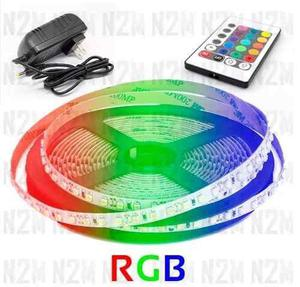 Tira Led Rgb 5050 Exterior - Kit Completo + Fuente 12v N2m