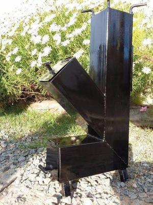Cocinas cohete stove rocket a le a portatiles posot class for Planos para cocina rocket