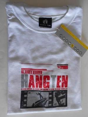 Hang Ten Remera 100% Algodón, Nueva Sin Uso