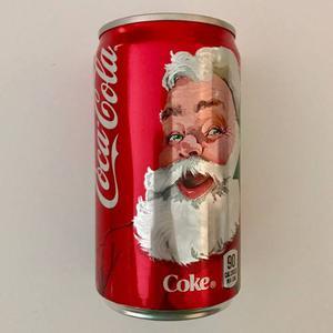 Lata Coca Cola Navidad  Origen Usa Llena