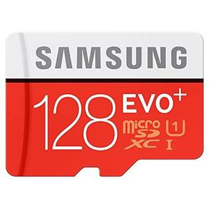 Micro Sd Samsung 128gb Evo Plus Sdhc Sdxc 80mb/s Clase 10 S7