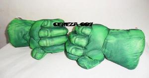 Puño Set De Puños Gigante De Increible Hulk Izquierdo Y