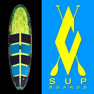 Sup - Stand Up Paddle - Carricart Surfboards