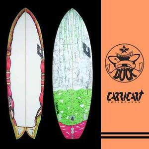 Tabla De Surf - Retrofish & Evolutivas Carricart Surfboard