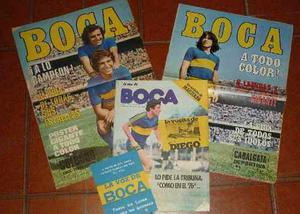 Antiguas Revistas Boca Color ()