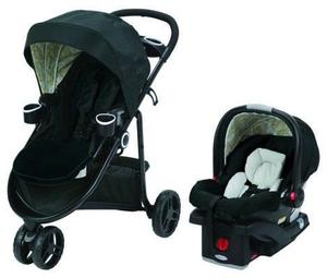 Coche Travel System Graco Modes 3 Lite Bloom Huevito+base