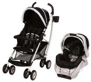 Coche Travel System Para Bebés Graco Mosaic C/ Huevito
