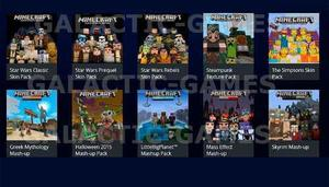 Dlc Pack 10 Dlc Para Minecraft -no Incluye Juego- Psn 3-3
