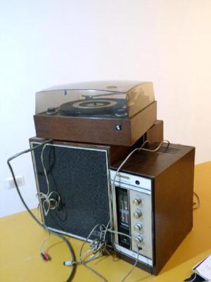 Ken Brown Tocadiscos Con DOS Bafles Y Amplificador Tono Tune