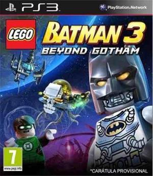 Lego Batman 3 Beyond Gotham | Playstation3 | Entrega Ya