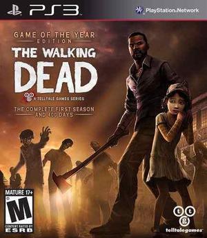 The Walking Dead Season 1 | Playstation 3 | Entrega Ya