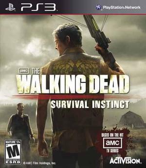 The Walking Dead Survival Instict Ps3 | Mercadolider