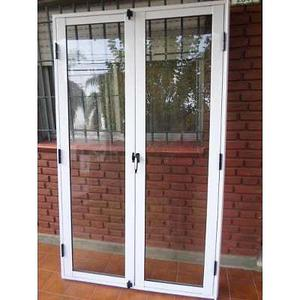 Puerta balcon aluminio 120x200 posot class for Puerta balcon