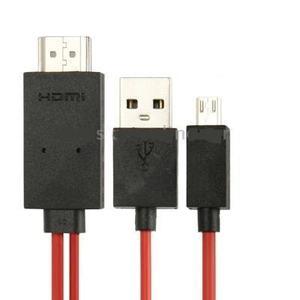 Cable Adaptador Mhl Hdmi Galaxy Note 4 S3 S4 S5 1080p Fullhd