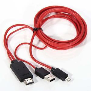 Cable Adaptador Micro Usb A Mhl Hdtv Hdmi Samsung S3 S4 S5