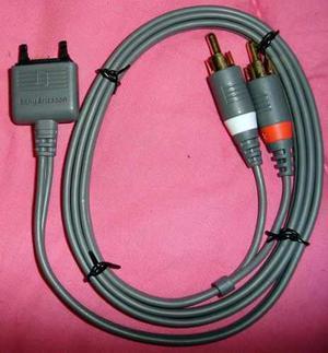 Cable De Audio Con Salida Stereo Rca Sony Ericsson