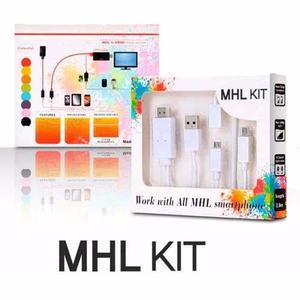 Cable Micro Usb Mhl A Hdmi Sony Z1 Z2 Lg Htc Samsung