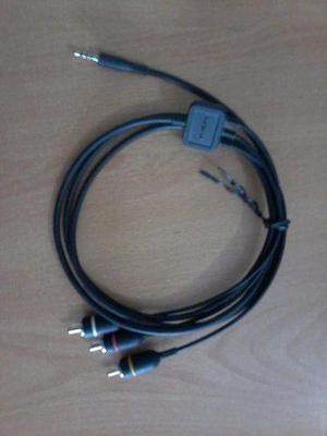 Cable Plug 3,5mm A 3 Rca Nokia Ca-75u