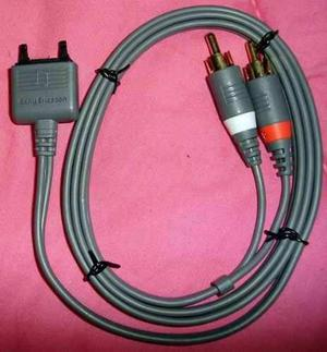 Cable Rca Audio Para Sony Ericsson Original Nuevo