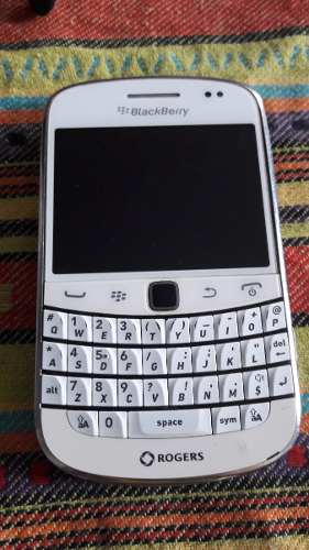Blackberry Bold  Blanco Wifi 3g Tactil Impecable Libre