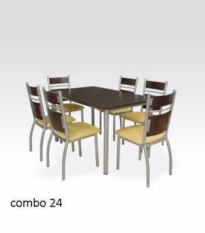 Combo de mesa y sillas