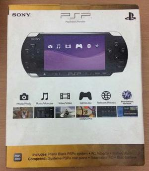 Psp Sony gb+ 15 Juegos + 5 Portajuegos + Estuche