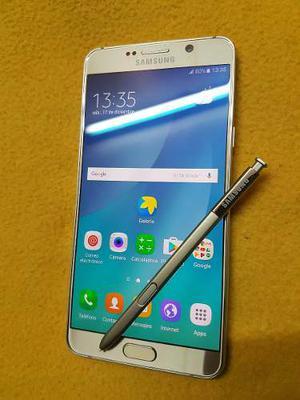 Samsung Galaxy Note 5 4g Lte Dorado Libre De Fabrica