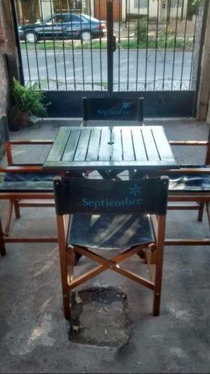 Vendo juegos de mesas y sillas