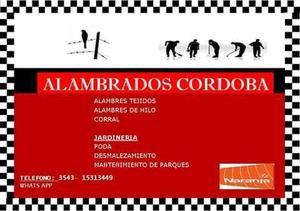 ALAMBRADOS CORDOBA. también jardinería