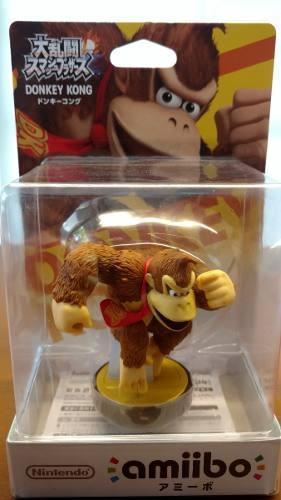 Amiibo Donkey Kong, Nuevo, Original Y Sellado. Wii U / 3ds