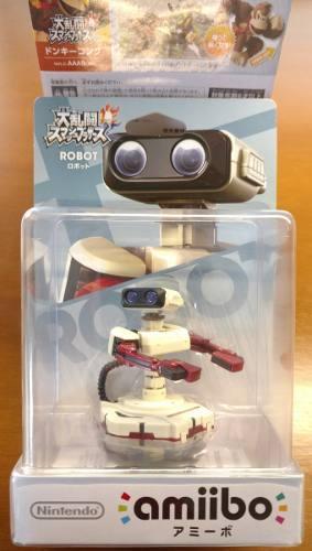 Amiibo R.o.b, Nuevo, Original Y Sellado. Wii U / 3ds