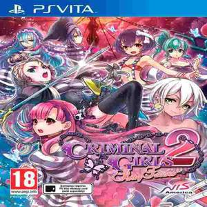 Criminal Girls 2 Party Bag Limited Edition Ps Vita