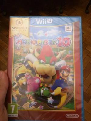 Mario Party 10 Wii U Nuevo