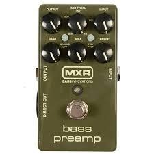 Mxr Bass Preamp M81 Pedal Para Bajo