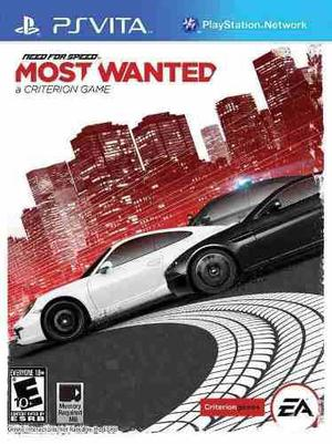 Need For Speed Most Wanted Nuevo Ps Vita Dakmor Canje/venta