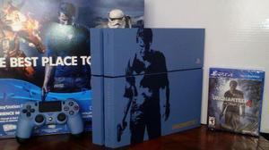 Playstation 4 1 Tb Edicion Especial Uncharted 4 Cuh 1216b.