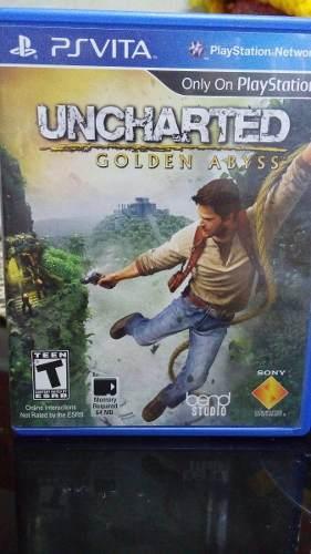 Uncharted Golden Abyss Ps Vita Usado En Excelente Estado!