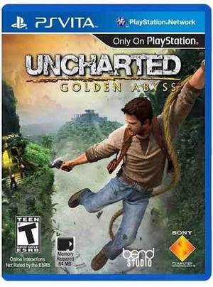 Uncharted Golden Abyss Psvita Nuevo Fisico Sellado Gamebox
