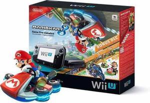 Wii U Mario Kart 8 Deluxe Set + Dlcs.