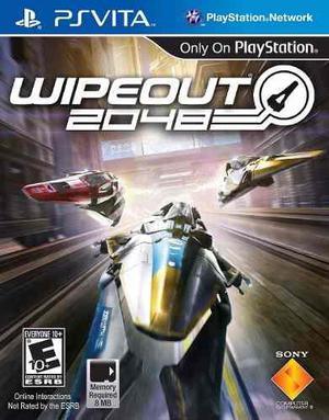 Wipeout 2048 Psvita Nuevo Fisico Sellado Gamebox