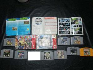 Cartuchos De Nintendo 64
