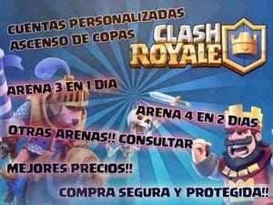 Clash Royale | Copas | Chetamos | Arena 3 Y 4 En 1 Y 2 Días