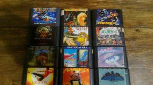 Lote Sega Genesis Impresionante Megaman Axys Runarak Strider