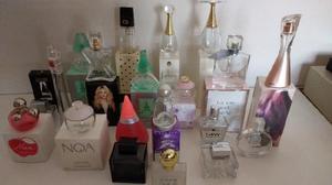 Lote frascos Perfumes Importados con caja