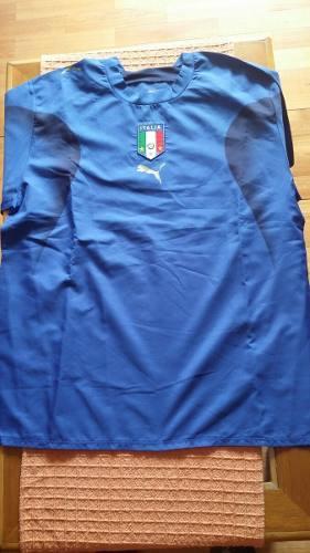Remera De Italia Talle Xl Nueva (mundial 2006)
