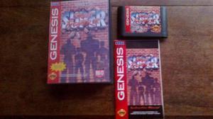 Super Street Fighter 2 Sega Genesis Completo Capcom