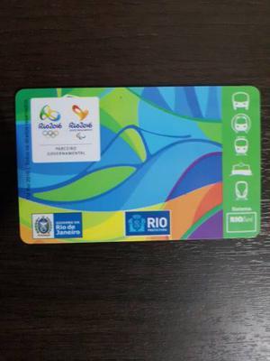 Tarjeta Bus Colección Juegos Olímpicos Río Janeiro
