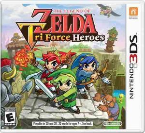 3ds Zelda Tri Force Heroes Nuevo, Sellado!!!